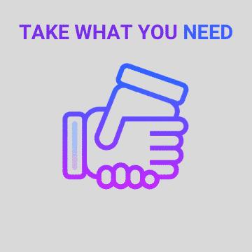 Take What You Need Work